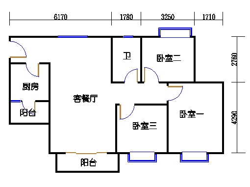 D3栋4层06单元