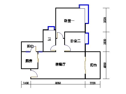 D3栋5-15层04单元