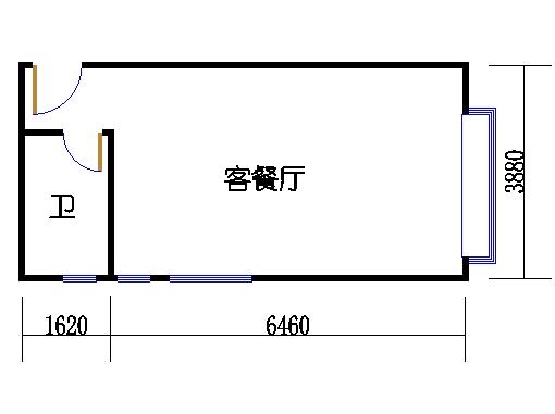 A栋6-34层A1单元