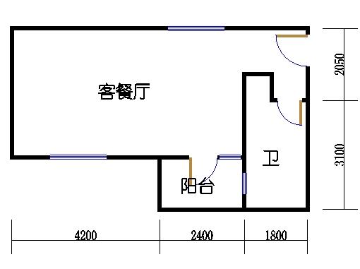 A栋6-34层A2单元