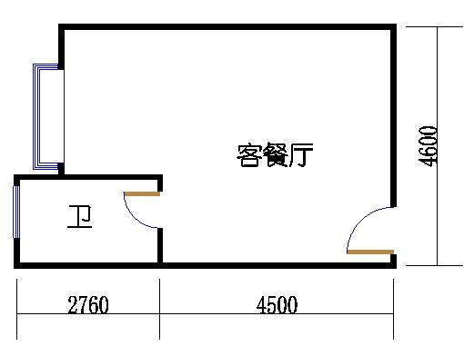 A栋6-34层A5单元
