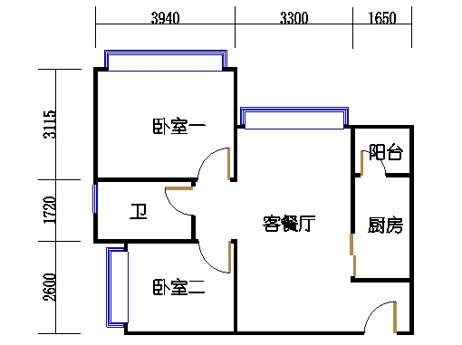 A栋6-34层A7单元