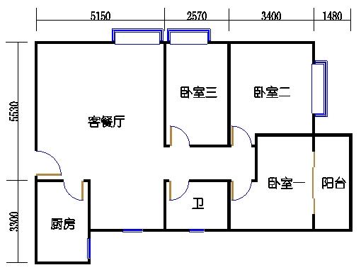 B3-陶然阁01单元