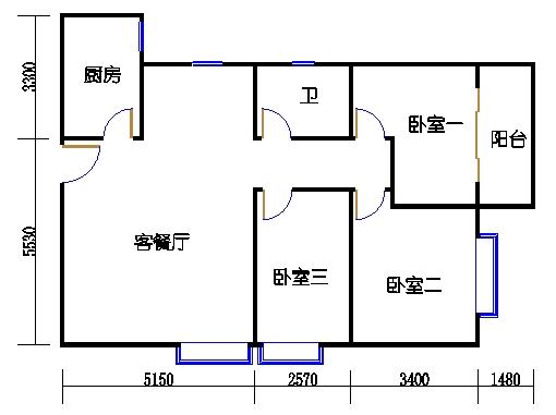 B3-陶然阁02单元