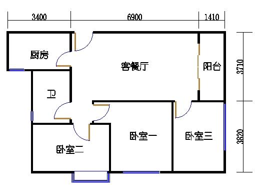 B3-陶然阁06单元