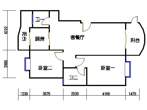 B栋6跃7层下层