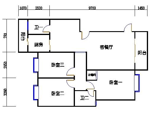 D栋6跃7层下层