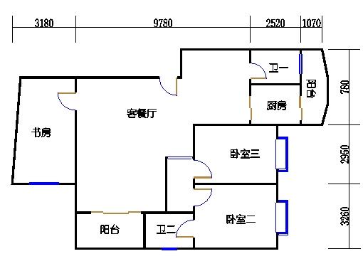 E栋1层C单元