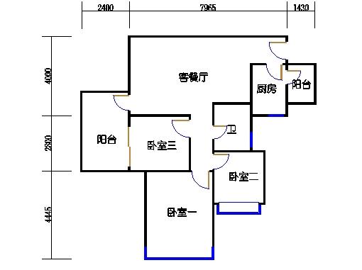 17号楼A座偶数层06单元