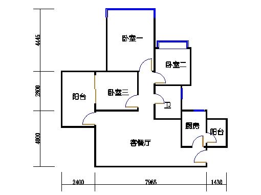 17号楼A座偶数层07单元