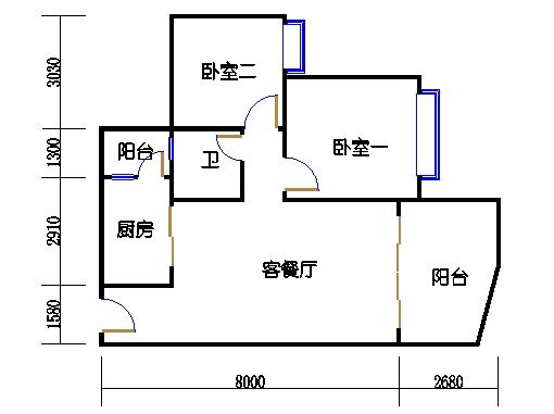 17号楼A座奇数层01单元