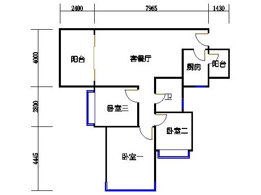 17号楼A座奇数层06单元