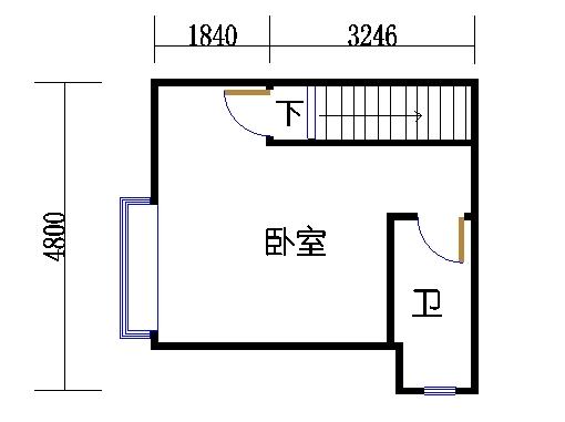 2C1单元偶数层二层