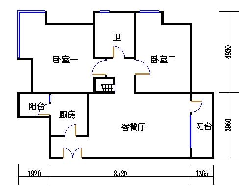 2C2单元偶数层一层