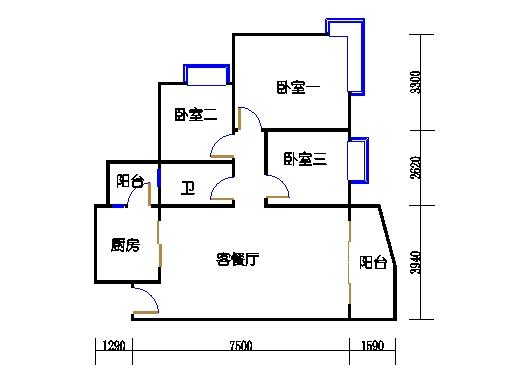 E1栋3-31层01单元
