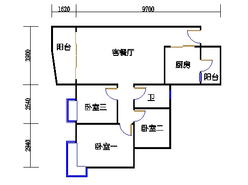E1栋3-31层03单元