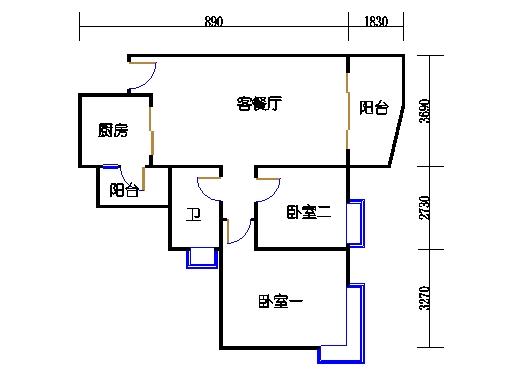 E1栋3-31层06单元