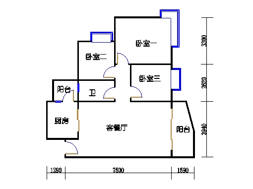 E2栋3-31层01单元
