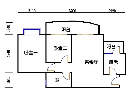 E2栋3-31层04单元