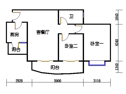 E2栋3-31层08单元