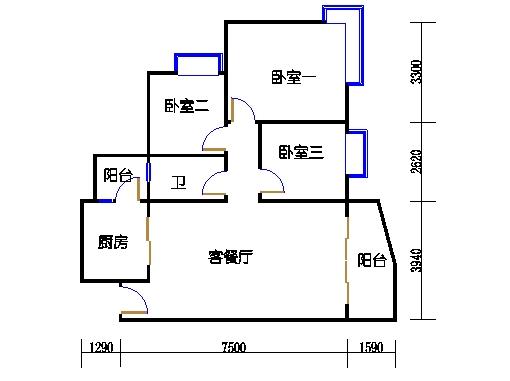 E3栋3-31层01单元