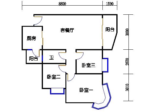 E3栋3-31层02单元