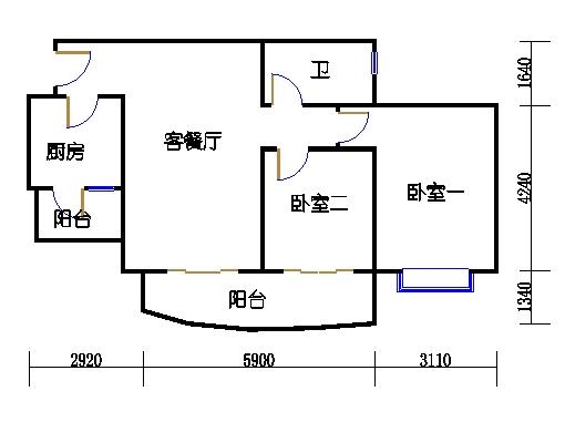 E3栋3-31层08单元