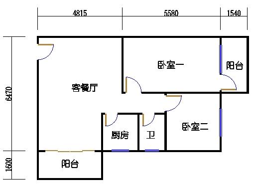 2-3层C梯01单元
