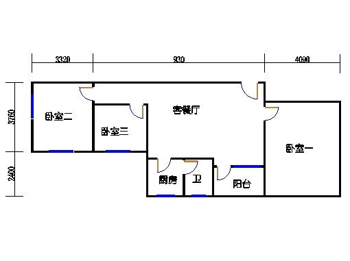 4-7.9层A梯02单元