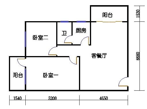 4-7.9层A梯03单元