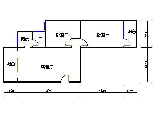 8层A梯01单元