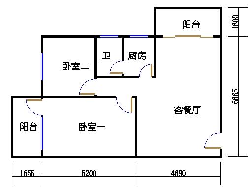 8层A梯03单元