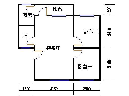 2-9层A梯01单元