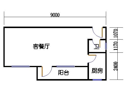 2-9层C梯03单元