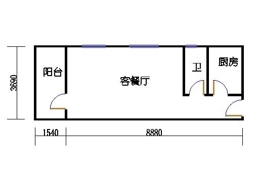 2-5层A梯04单元