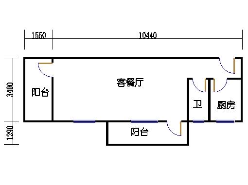 2-5层A梯05单元