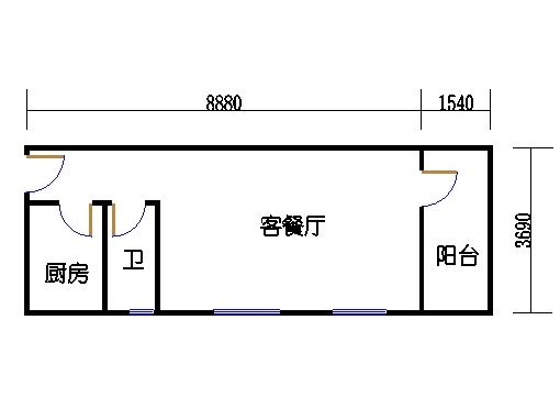 2-5层B梯01单元