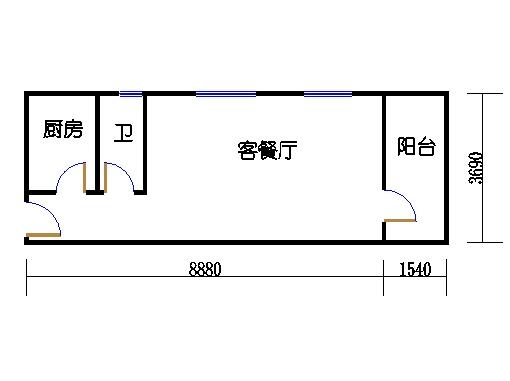 2-5层B梯06单元