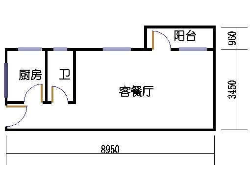 6-9层A梯08单元