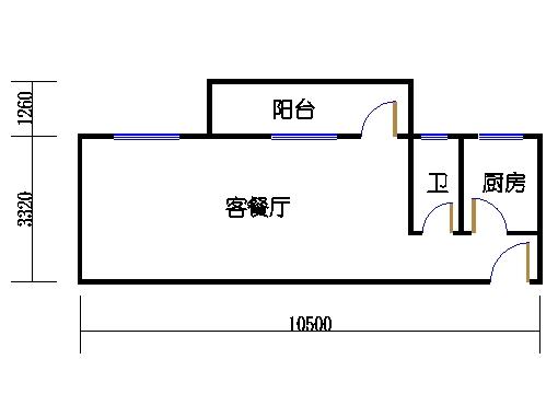 6-9层B梯03单元