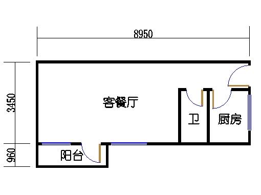6-9层B梯04单元
