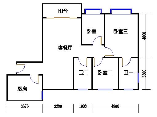 A栋7-29层01单元