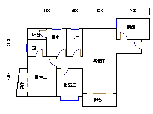 A栋7-29层05单元