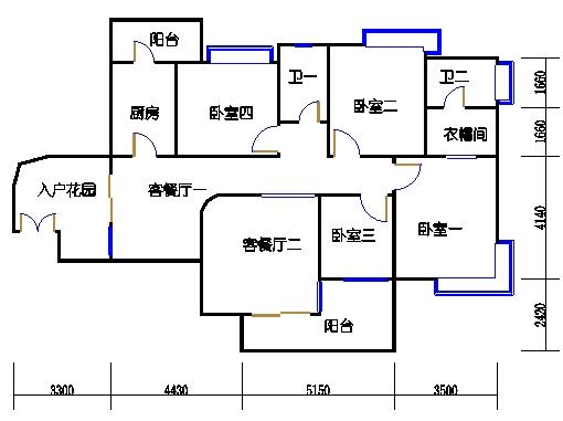 3-17层B-03单元