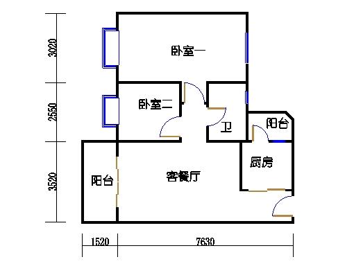 6栋4-16层04单元