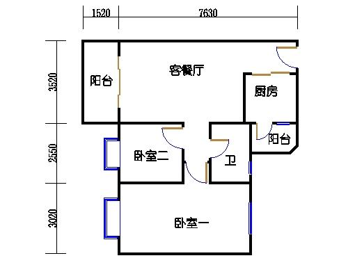 6栋4-16层05单元