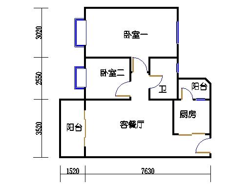 6栋4-16层06单元