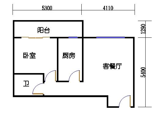 B1-1-701单元