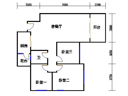 10号楼十层B座03单元