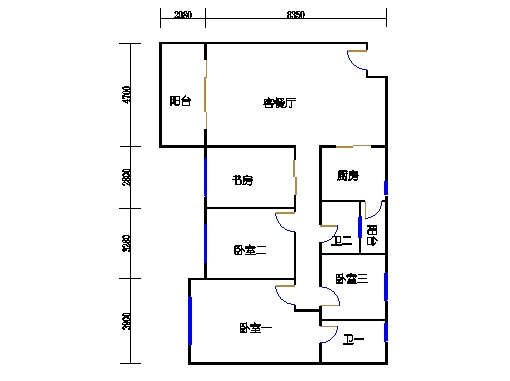 10号楼十层C座02单元